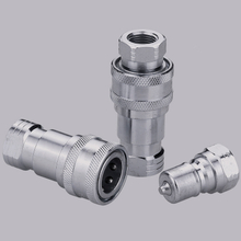 ISO7241-B S2-SS CLOSE TYPE quick connect hydraulic fittings (Stainless Steel)