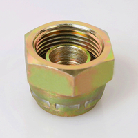 9B BSP FEMALE 60°CONE PLUG Top quality Carbon steel BSP hydraulic fitting iron pipe plug