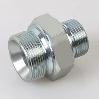 1CB METRIC MALE 24°SEAL Light Type/BSP MALE DOUBLE 60°SEAT BONDED SEAL steel hydraulic fittings