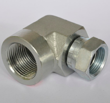 Female Pipe Elbow 1502 NPSM swivel / female pipe thread SAE 140231 hydraulic swivel fittings
